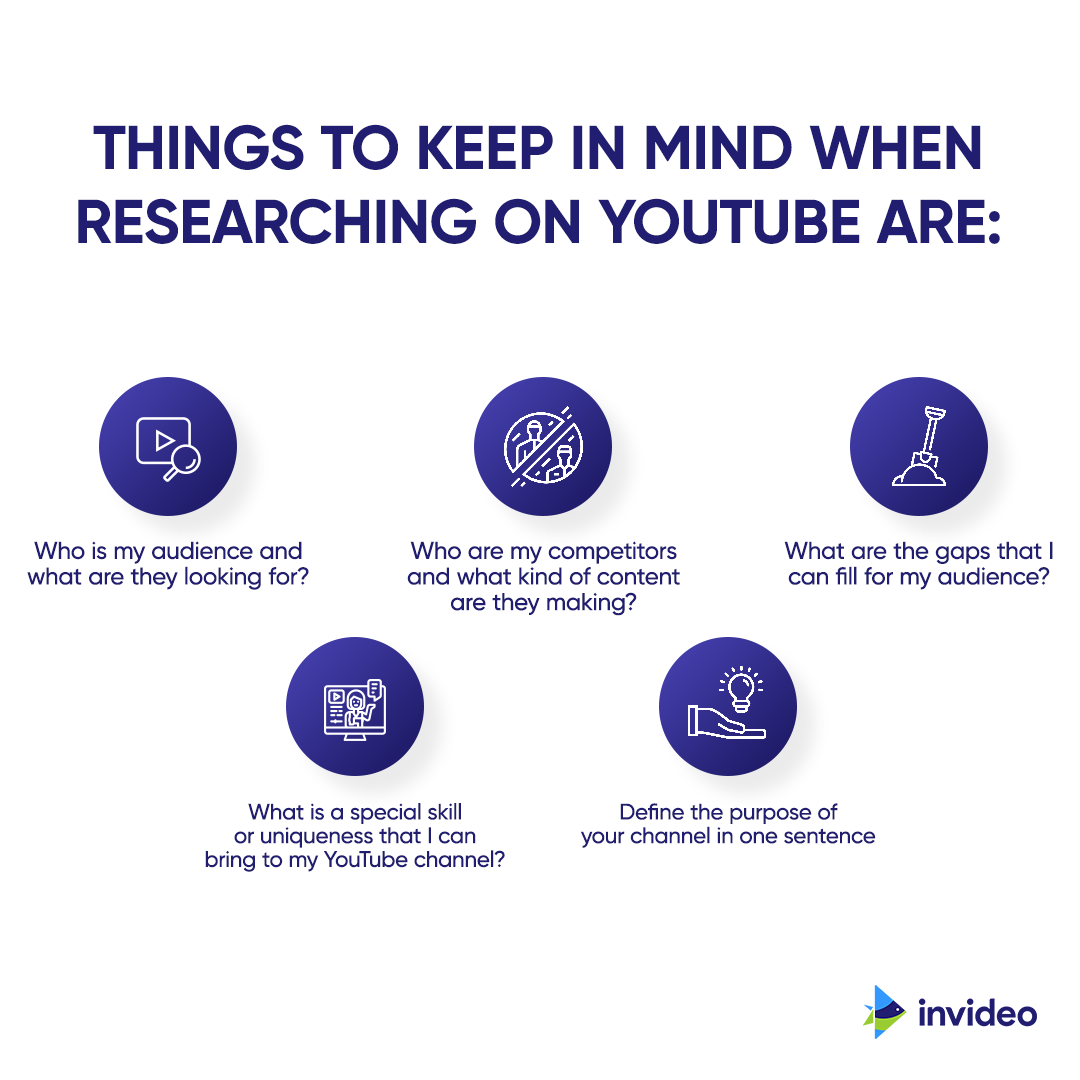 things to consider while researching on youtube