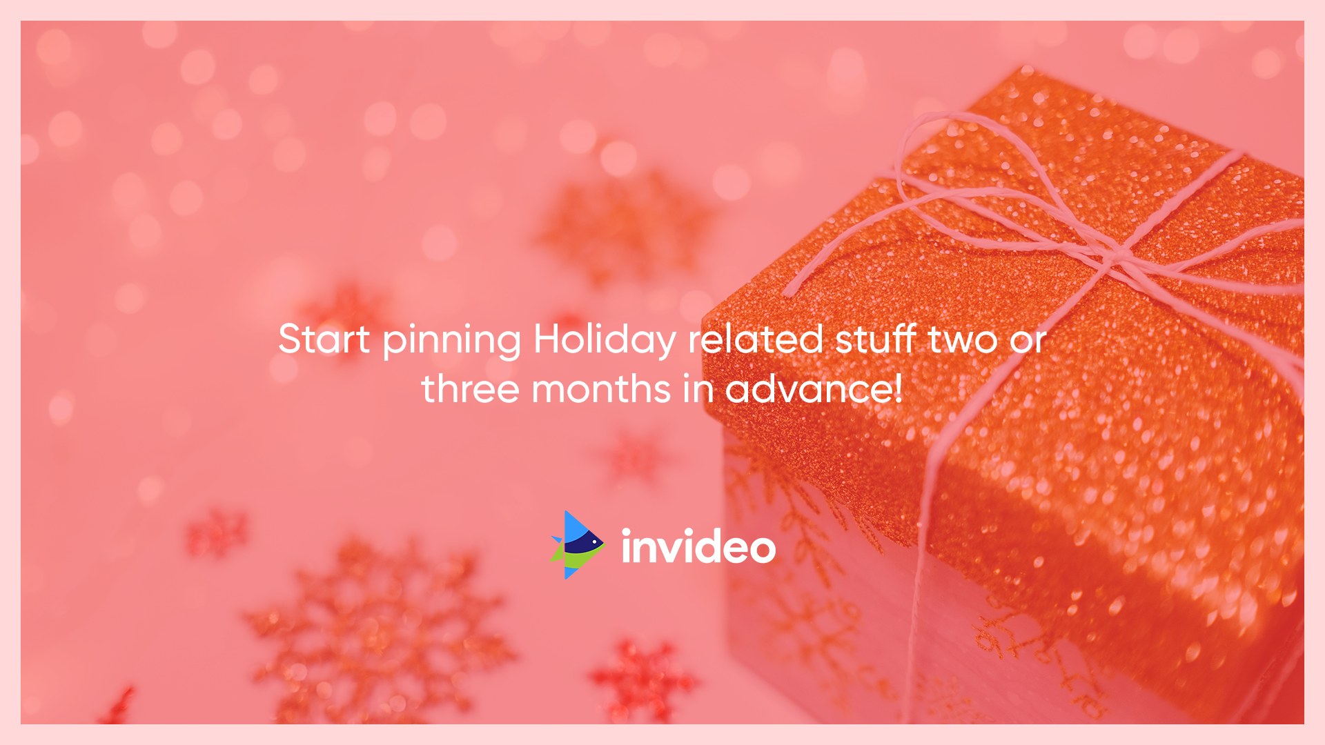 Advance Planning of Holiday Post - Pinterest