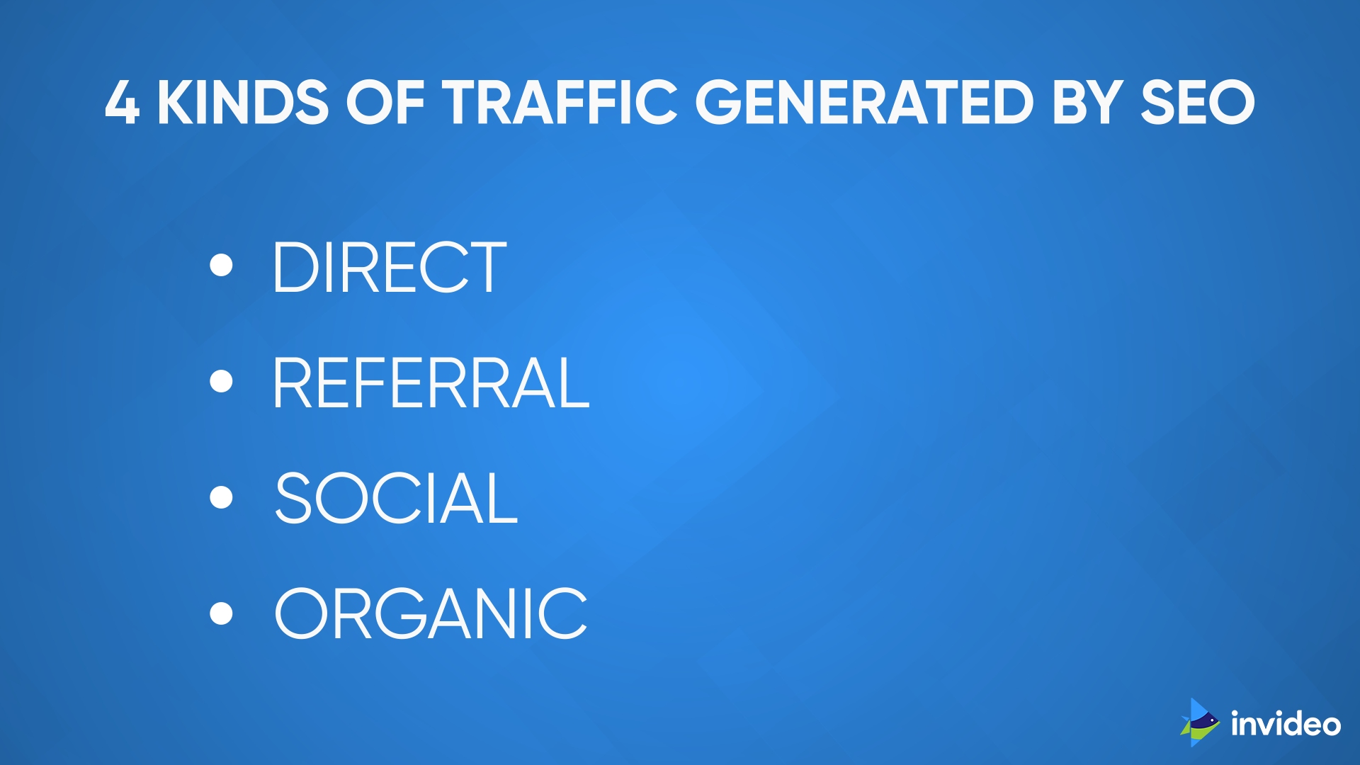 4 Kinds Of Traffic Generated by SEO