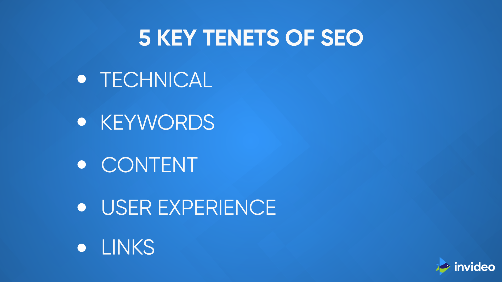 5 Key Tenets of SEO