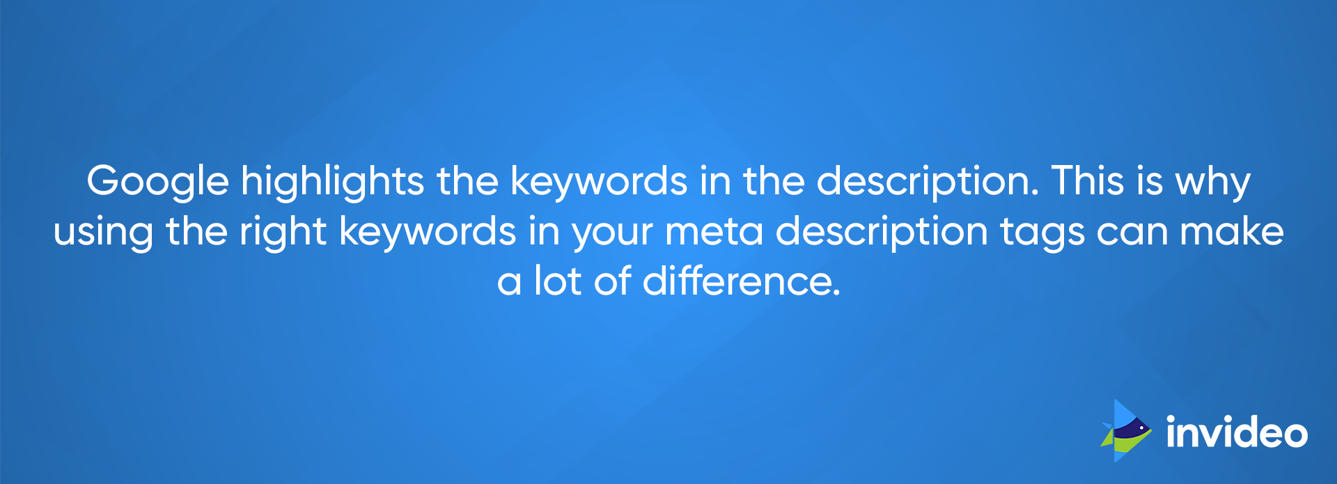 Right Keyword in Meta Description