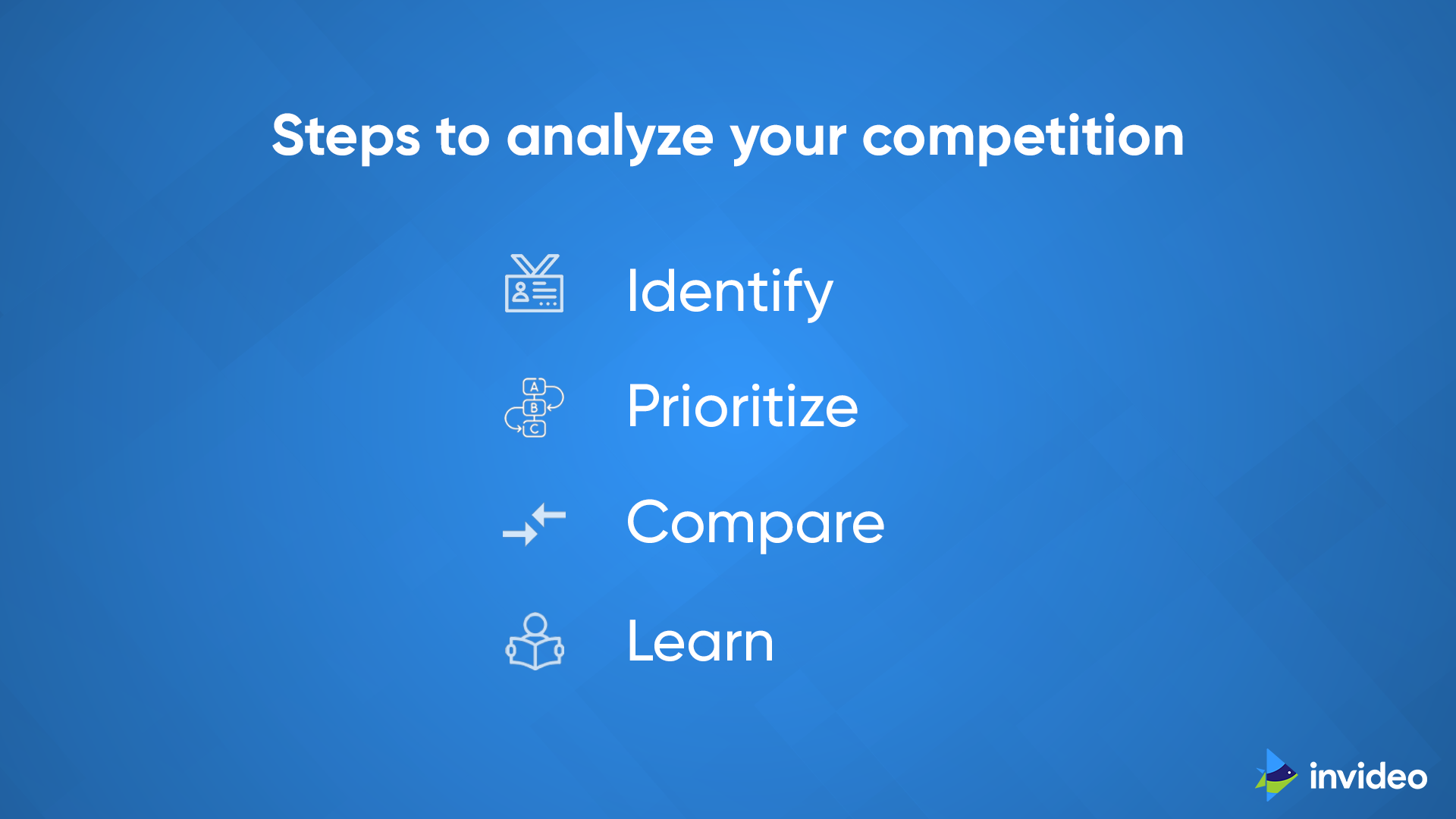Steps to analyze Your Competition