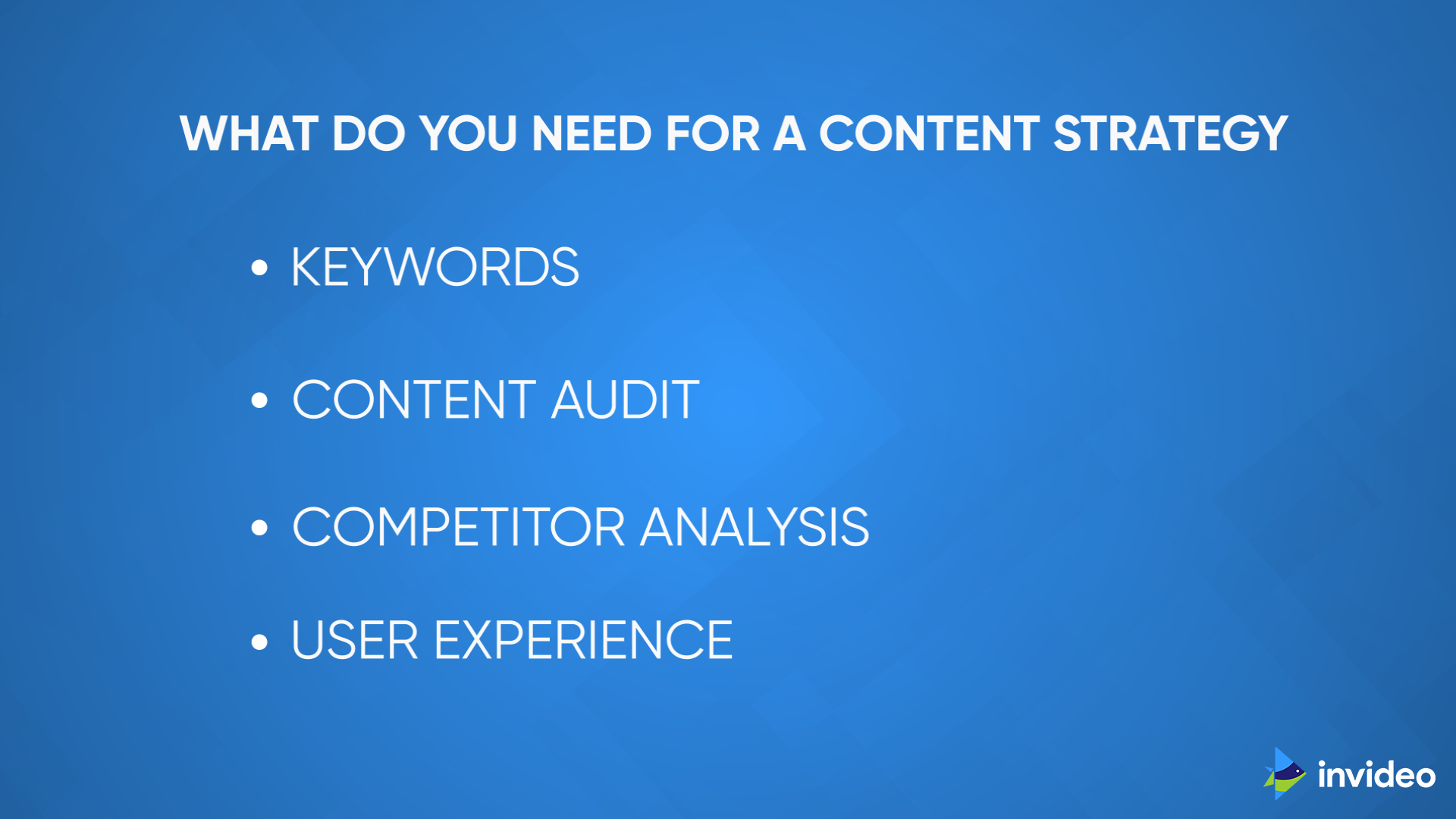 Building Content Strategy