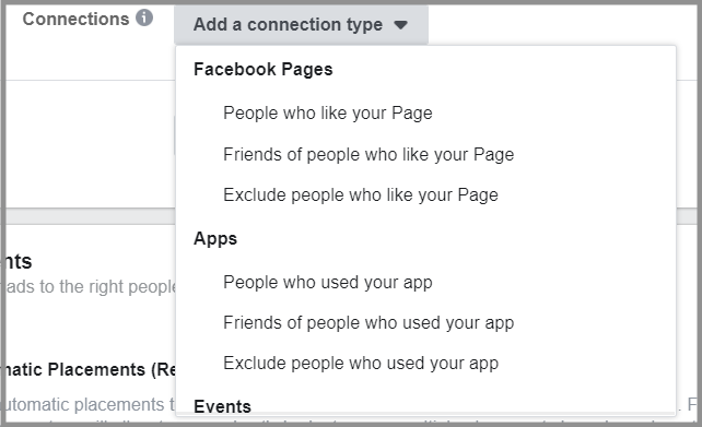 Target your users based on your activity