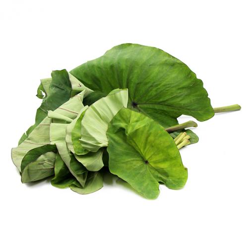 Colocasia Leaves (Patarveliya Paan) 1 Kg (अरबी के पत्ते)