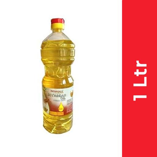 Patanjali Soyabean Oil (पतंजलि सोयाबीन तेल) - 1 ltr (Bottle)