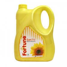 Fortune Sunlite  Sunflower Oil 5 ltr (Jar) - फॉर्च्यून सनफ्लॉवर ऑइल