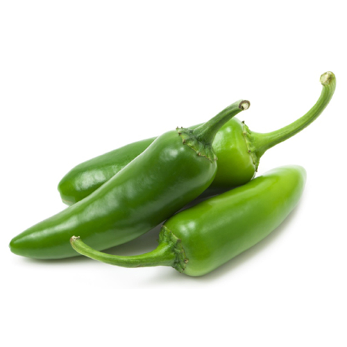 Marcha Mota 1 Kg ( मोटी हरी मिर्च  - મોટા મરચા - Big Green Chilli )