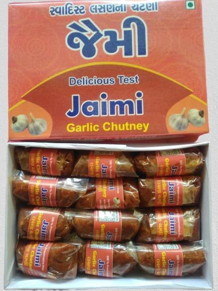 Jaimi Garlic Chutney (Box Pack)  - 480 gm