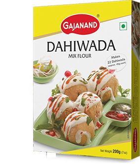 Gajanand Dahivada Mix - 400 gm