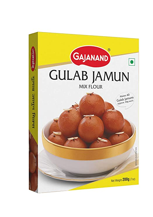 Gajanand Gulab jamun Mix - 400 gm