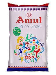 Amul Pure Ghee Pouch 1 ltr