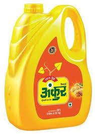 Ankur Groundnut Oil (Singtel - મગફળીનું તેલ) 5 ltr (Jar)