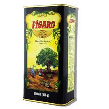 Figaro Olive Oil 500 ml (Tin)