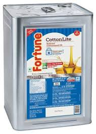 Fortune Cottonseed Oil (Kapasiya Tel - કપાસિયા તેલ) 15 ltr (Tin)