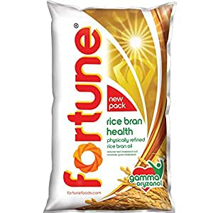 Fortune Rice Bran Oil - 1 ltr (Pouch)