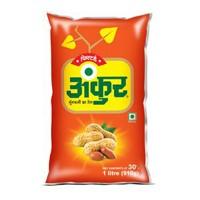 Ankur Groundnut Oil (Singtel - મગફળીનું તેલ) 1 ltr (Pouch)