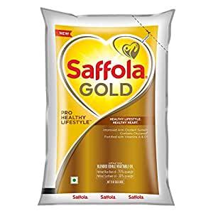 Saffola Gold - Pro Healthy Lifestyle Edible Oil - 1 ltr