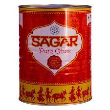 Sagar Pure Ghee Tin 1 ltr