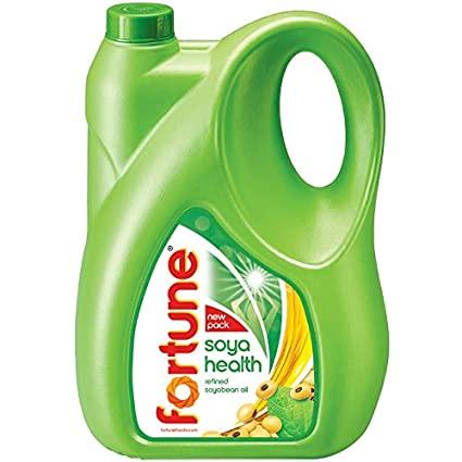 Fortune Soya Bean Oil, 5 ltr (Jar)
