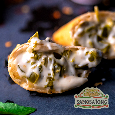 Queen Jalapeno Cheese Samosa (2 Pcs.)