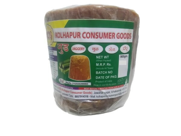 Kolhapuri Natural Jaggery (Gol) 900 gm