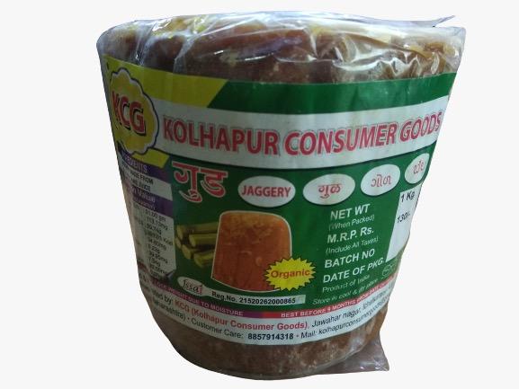 Kolhapuri Organic Jaggery (Gol) 1 kg