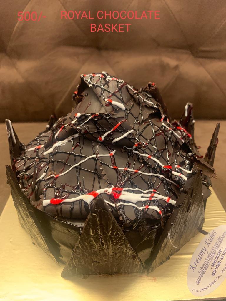 Royal Chocolate Basket Cake - 500gm