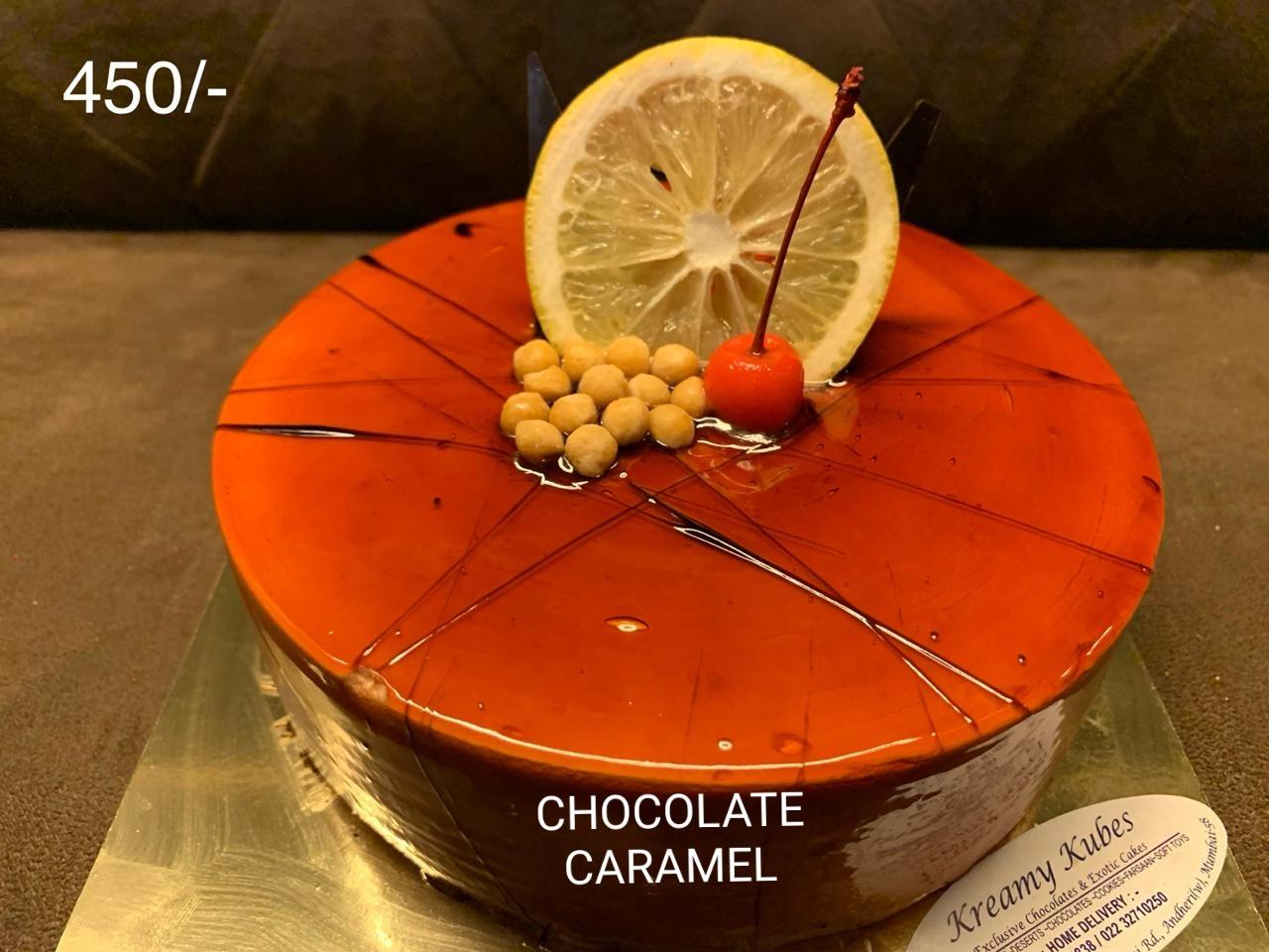 Chocolate Caramel Cake- 500gm