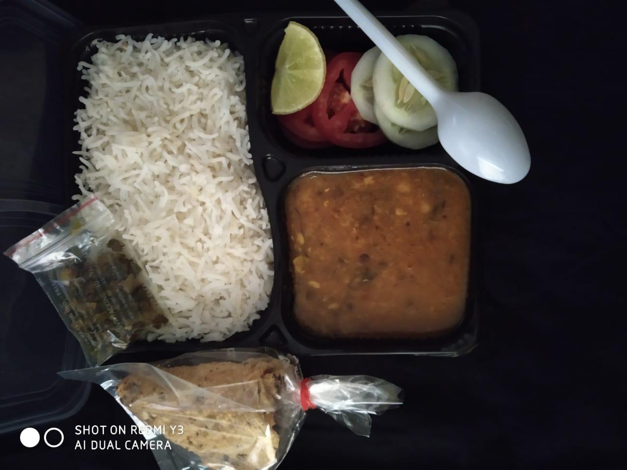 Marwadi Dal Bhaat Meal