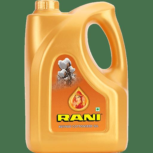 Rani Cottonseed Oil 5 Ltr (Jar) (कपसिया तेल )