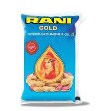 Rani Groundnut Oil 1 Ltr Pouch (मूंगफली का तेल)