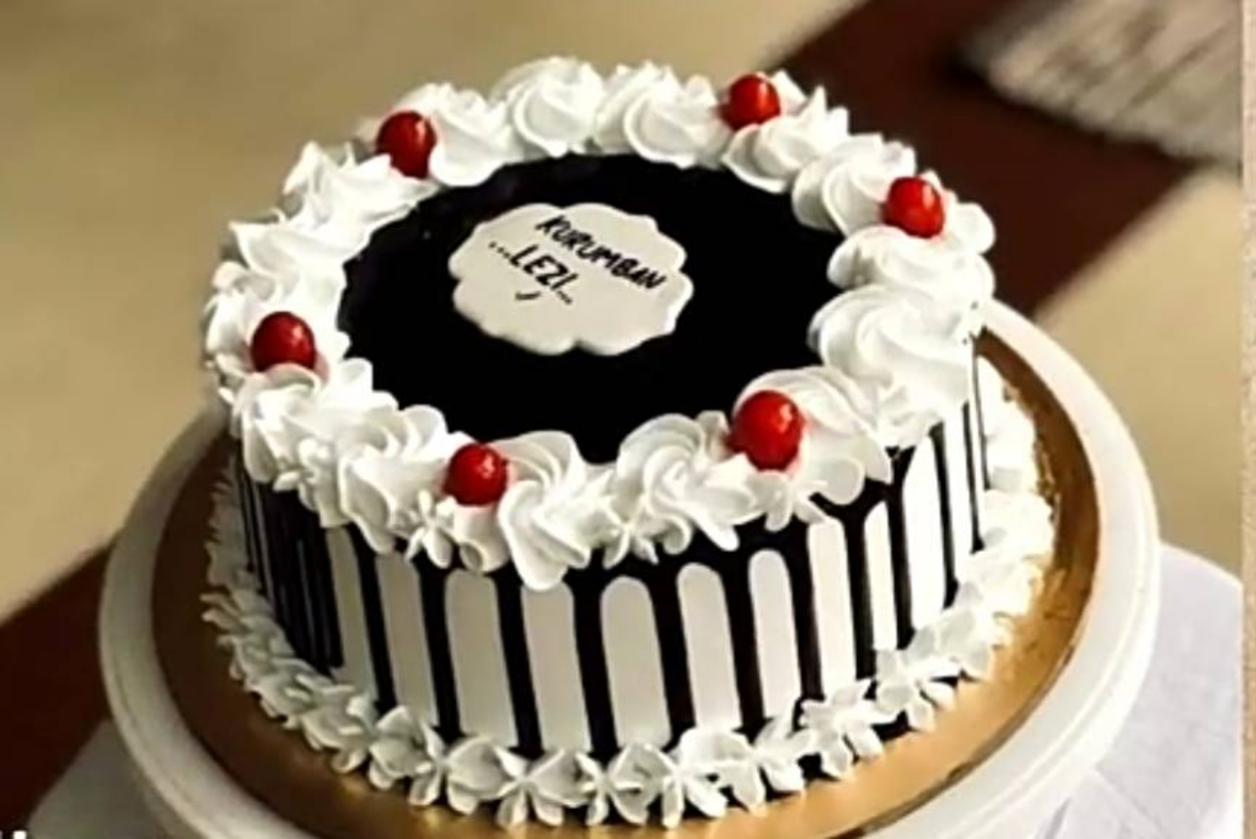 Black Forest Cake - 500 gm
