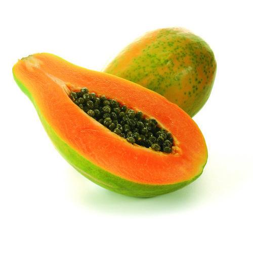 Papaya Fruit 2 Pcs (पपीता - પપૈયું)