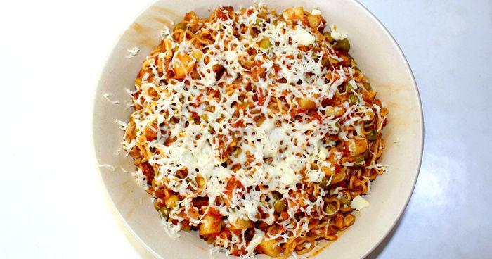 Veg Masala Cheese Maggi