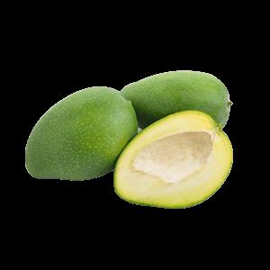 Raw Mango Desi 1 Kg (कच्चा आम - કાચી કેરી)