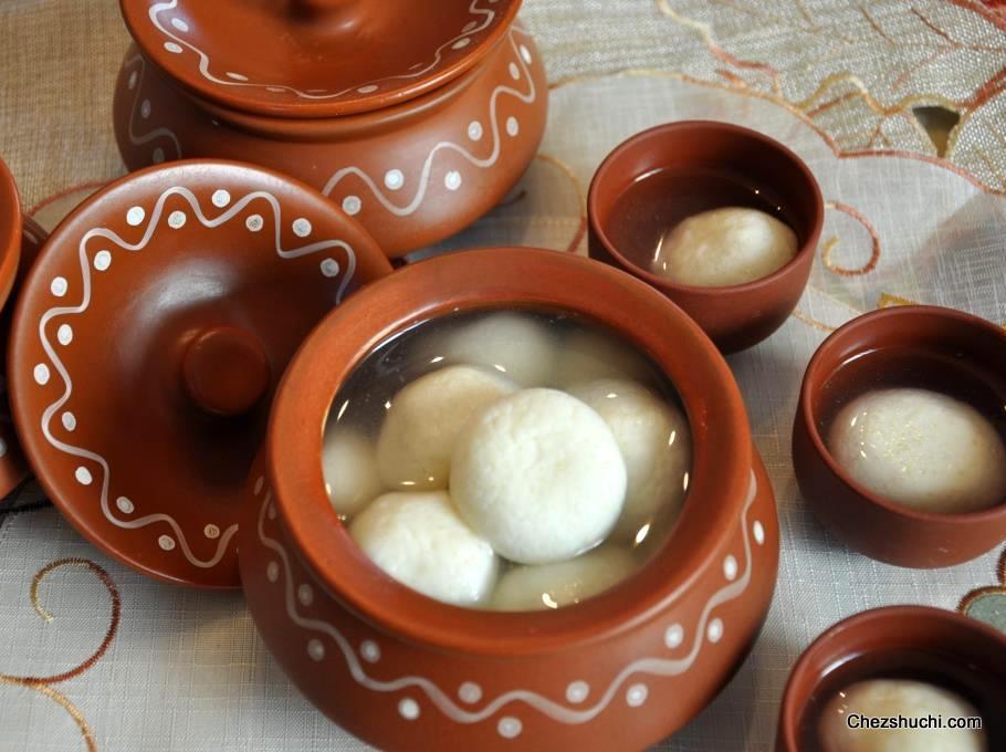Bowl of Bengali Rasgulla - Regular