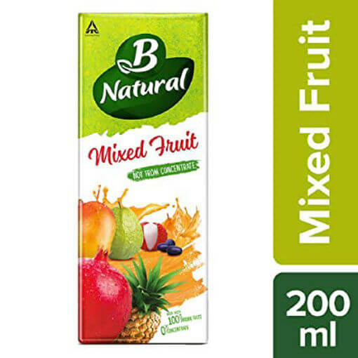B Natural Mix Fruit Juice 200 Ml (फ्रूट जूस )