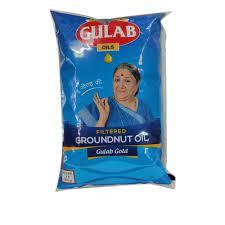 Gulab Ground Nut Oil 1 Ltr (मूंगफली का तेल)