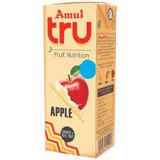 Amul Tru Apple Fruit Nutrition 200 Ml (अमूल ट्रू एप्पल फ्रूट न्यूट्रिशन ड्रिंक)