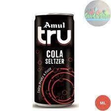 Amul Tru Cola Seltzer 200 Ml (अमूल ट्रू कोला सेल्टज़र)