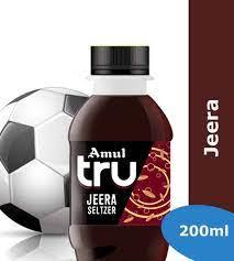 Amul Tru Jeera Seltzer 200 Ml (अमूल ट्रू जीरा सेल्टज़र)