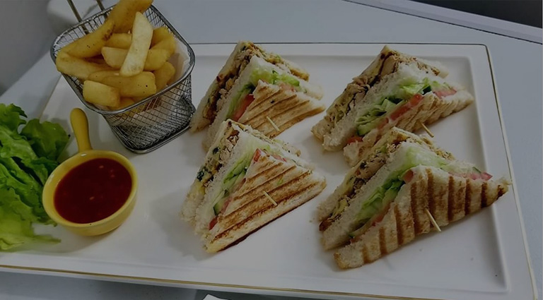 Balaji Sandwich Corner Background