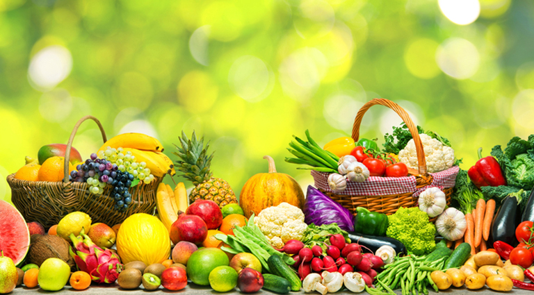 Shreeram Fruits and Vegetables Background