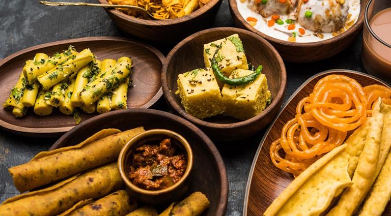 Jay Khodiyar Sweet,  Farsan and Caterers Background