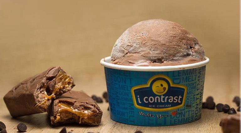 I Contrast Ice Cream - Depot Background
