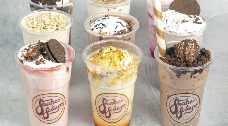 Shakes & Scoops Background
