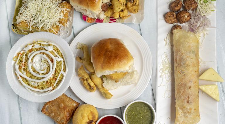 Ganesh Fastfood Background