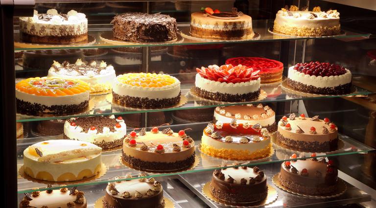 Cake Shop Background