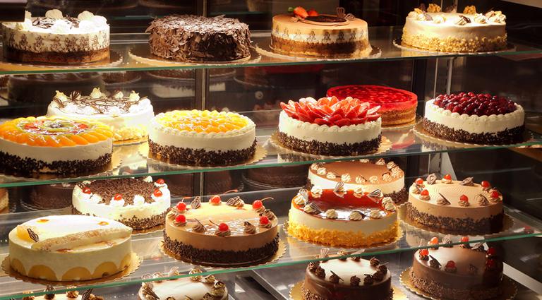 The Dango Cake Shop Background